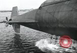 Image of Launch of the USS Nautilus Groton Connecticut USA, 1954, second 17 stock footage video 65675063497