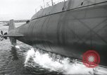 Image of Launch of the USS Nautilus Groton Connecticut USA, 1954, second 19 stock footage video 65675063497