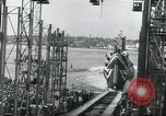 Image of Launch of the USS Nautilus Groton Connecticut USA, 1954, second 22 stock footage video 65675063497