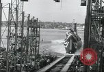 Image of Launch of the USS Nautilus Groton Connecticut USA, 1954, second 23 stock footage video 65675063497
