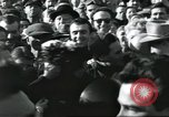 Image of Large crowd greets passenger arriving at train station Soviet Union, 1953, second 48 stock footage video 65675063498