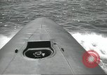 Image of USS Nautilus in sea trials United States USA, 1954, second 40 stock footage video 65675063501