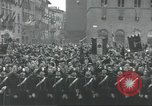 Image of Adolf Hitler and Benito Mussolini at Piazza Della Signoria Florence Italy, 1940, second 24 stock footage video 65675063505