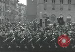 Image of Adolf Hitler and Benito Mussolini at Piazza Della Signoria Florence Italy, 1940, second 25 stock footage video 65675063505