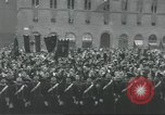 Image of Adolf Hitler and Benito Mussolini at Piazza Della Signoria Florence Italy, 1940, second 31 stock footage video 65675063505