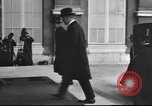 Image of dignitaries Paris France, 1919, second 20 stock footage video 65675063511
