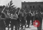 Image of Soldiers training at beginning of Spanish revolution  Sevilla Spain, 1936, second 25 stock footage video 65675063520