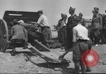 Image of Soldiers training at beginning of Spanish revolution  Sevilla Spain, 1936, second 32 stock footage video 65675063520