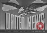 Image of USS Franklin D Roosevelt New York United States USA, 1945, second 4 stock footage video 65675063522