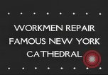 Image of Saint Patrick's Cathedral New York United States USA, 1945, second 2 stock footage video 65675063524