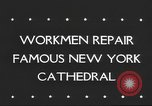 Image of Saint Patrick's Cathedral New York United States USA, 1945, second 4 stock footage video 65675063524