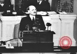 Image of Clement Richard Attlee Washington DC USA, 1945, second 22 stock footage video 65675063526