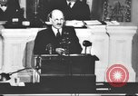 Image of Clement Richard Attlee Washington DC USA, 1945, second 25 stock footage video 65675063526