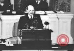Image of Clement Richard Attlee Washington DC USA, 1945, second 26 stock footage video 65675063526