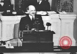 Image of Clement Richard Attlee Washington DC USA, 1945, second 31 stock footage video 65675063526