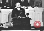 Image of Clement Richard Attlee Washington DC USA, 1945, second 35 stock footage video 65675063526