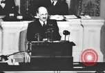 Image of Clement Richard Attlee Washington DC USA, 1945, second 36 stock footage video 65675063526