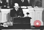 Image of Clement Richard Attlee Washington DC USA, 1945, second 37 stock footage video 65675063526