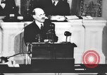Image of Clement Richard Attlee Washington DC USA, 1945, second 40 stock footage video 65675063526