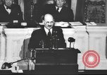Image of Clement Richard Attlee Washington DC USA, 1945, second 52 stock footage video 65675063526