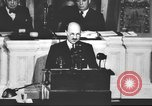 Image of Clement Richard Attlee Washington DC USA, 1945, second 57 stock footage video 65675063526
