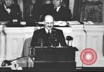 Image of Clement Richard Attlee Washington DC USA, 1945, second 59 stock footage video 65675063526