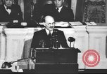 Image of Clement Richard Attlee Washington DC USA, 1945, second 60 stock footage video 65675063526