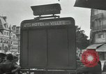 Image of deserted streets Paris France, 1944, second 2 stock footage video 65675063531
