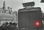 Image of deserted streets Paris France, 1944, second 3 stock footage video 65675063531