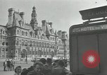 Image of deserted streets Paris France, 1944, second 4 stock footage video 65675063531