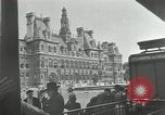 Image of deserted streets Paris France, 1944, second 8 stock footage video 65675063531