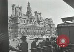 Image of deserted streets Paris France, 1944, second 11 stock footage video 65675063531