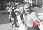 Image of French Red Cross members Paris France, 1944, second 13 stock footage video 65675063534