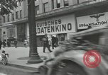 Image of French civilians Paris France, 1942, second 32 stock footage video 65675063537