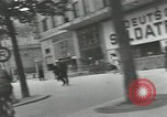 Image of French civilians Paris France, 1942, second 36 stock footage video 65675063537