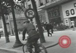 Image of French civilians Paris France, 1942, second 37 stock footage video 65675063537