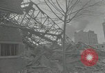 Image of war damaged buildings Paris France, 1942, second 59 stock footage video 65675063539