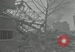 Image of war damaged buildings Paris France, 1942, second 60 stock footage video 65675063539