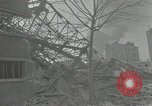 Image of war damaged buildings Paris France, 1942, second 61 stock footage video 65675063539