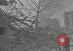 Image of war damaged buildings Paris France, 1942, second 62 stock footage video 65675063539