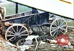 Image of wrecked German equipment Germany, 1945, second 1 stock footage video 65675063550