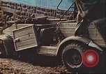 Image of wrecked German equipment Germany, 1945, second 42 stock footage video 65675063550