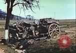 Image of wrecked German equipment Germany, 1945, second 48 stock footage video 65675063550