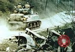 Image of blown railroad track Germany, 1945, second 4 stock footage video 65675063557