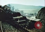 Image of blown railroad track Germany, 1945, second 34 stock footage video 65675063557