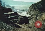 Image of blown railroad track Germany, 1945, second 36 stock footage video 65675063557