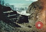 Image of blown railroad track Germany, 1945, second 37 stock footage video 65675063557
