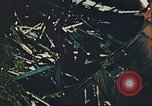 Image of blown railroad track Germany, 1945, second 38 stock footage video 65675063557