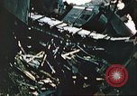Image of blown railroad track Germany, 1945, second 41 stock footage video 65675063557