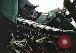 Image of blown railroad track Germany, 1945, second 43 stock footage video 65675063557